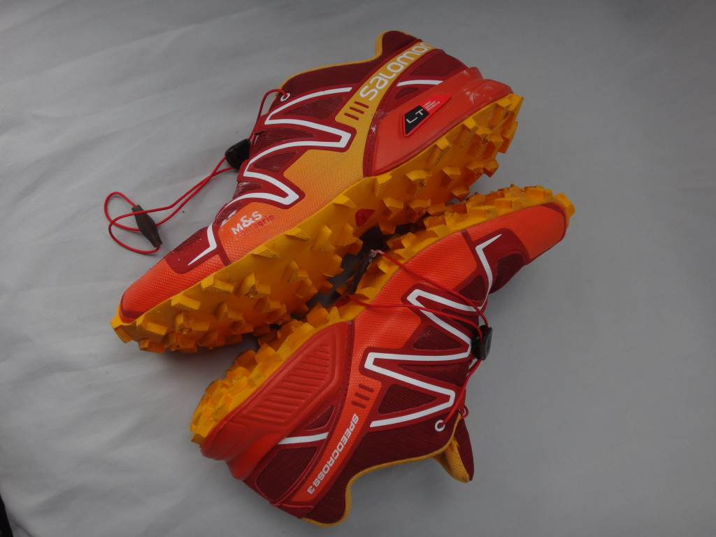 SpeedCross 3 - A good shoe for navigating uneven terrains.