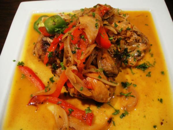 Roasted chicken italiano