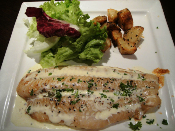 Pan Roasted Fish