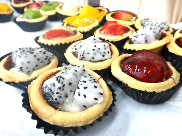 Fruit Tarts are another great way to prepare blemished fruits.