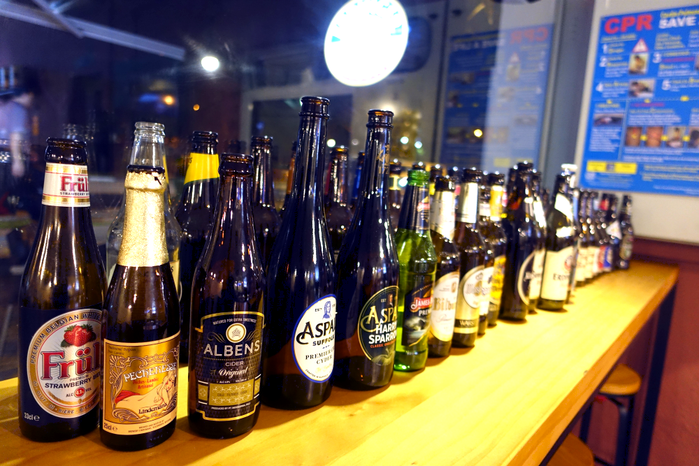 Cheng's has plenty of Craft Beer for diners to choose from.