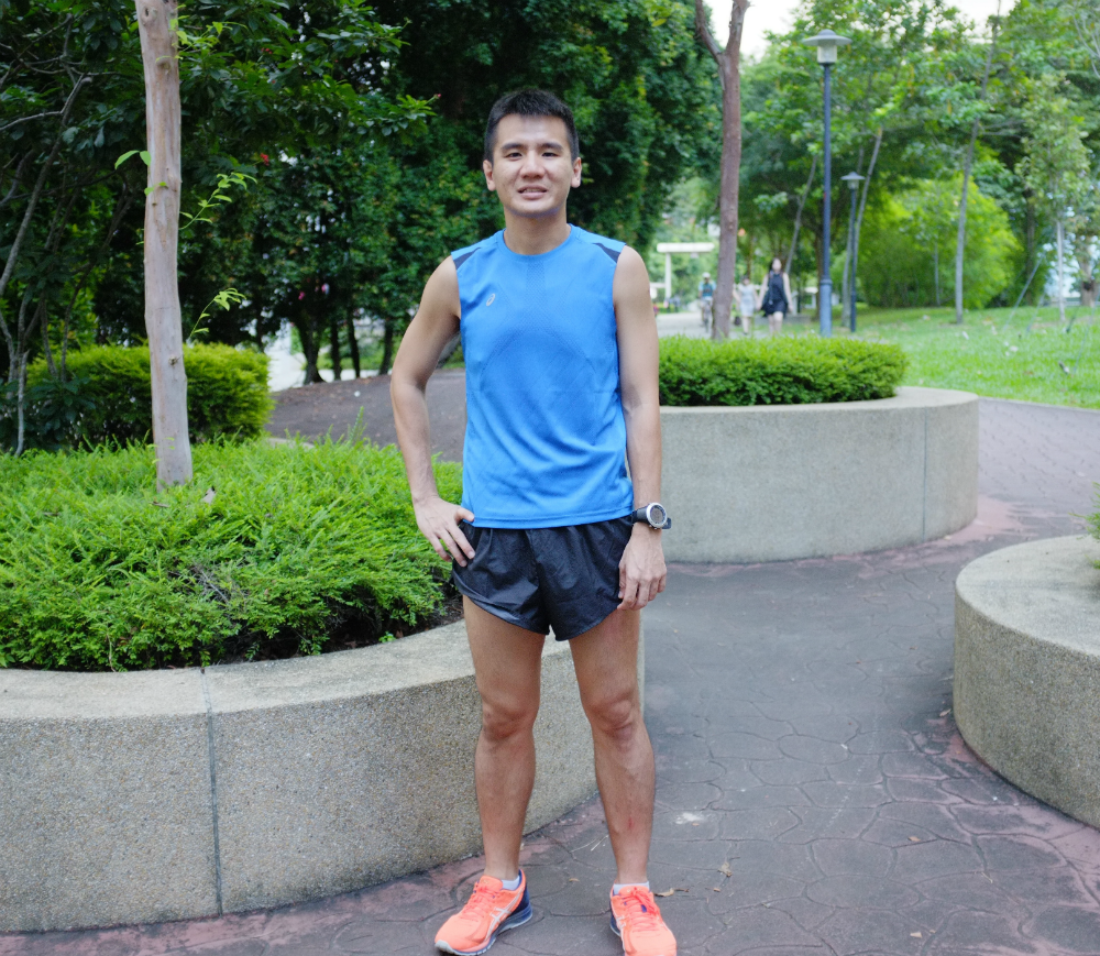 Lance Sum will represent Singapore as the amateur runner.