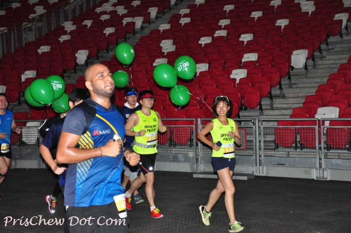 It was a great way for runners and pacers to gauge their training for SCMS.