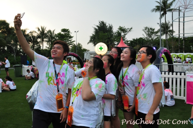 To some, the event was a great way to bond with their friends.