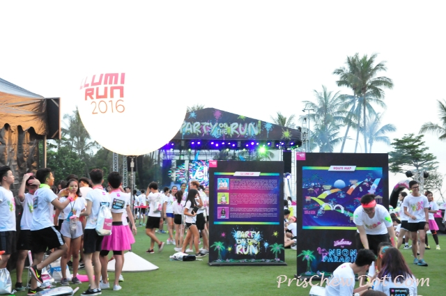 There was lots to see and do at the Illumi Run.