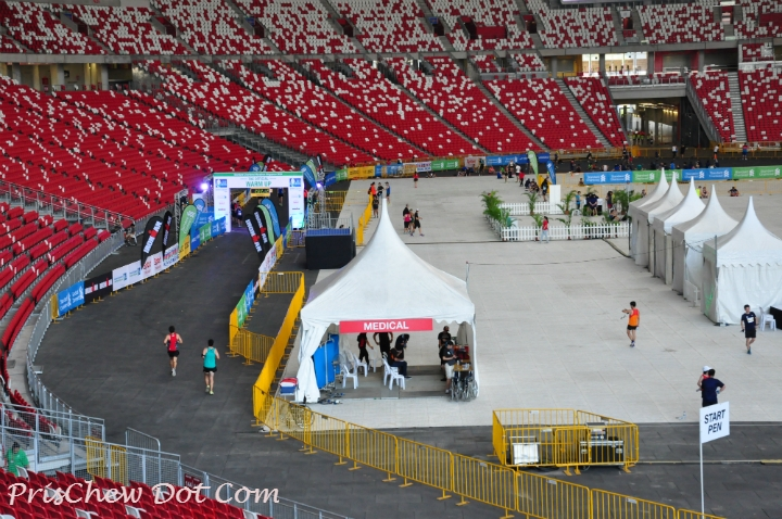 The National Stadium was buzzing.