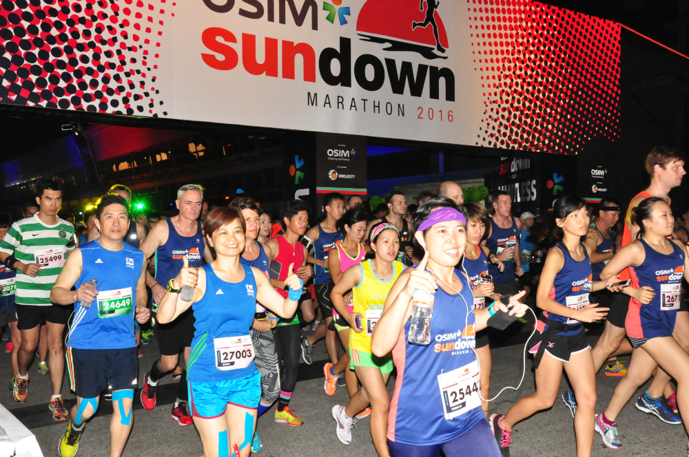 OSIM Sundown Marathon will be coming to Penang and Taipei.
