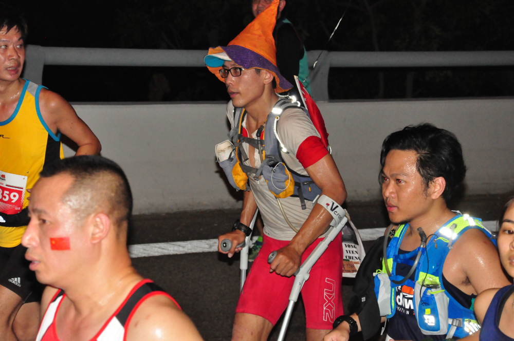 The famous Ah Siao runs the Sundown Marathon...one week after completing 1,000km of the Australian trails within 20 days.