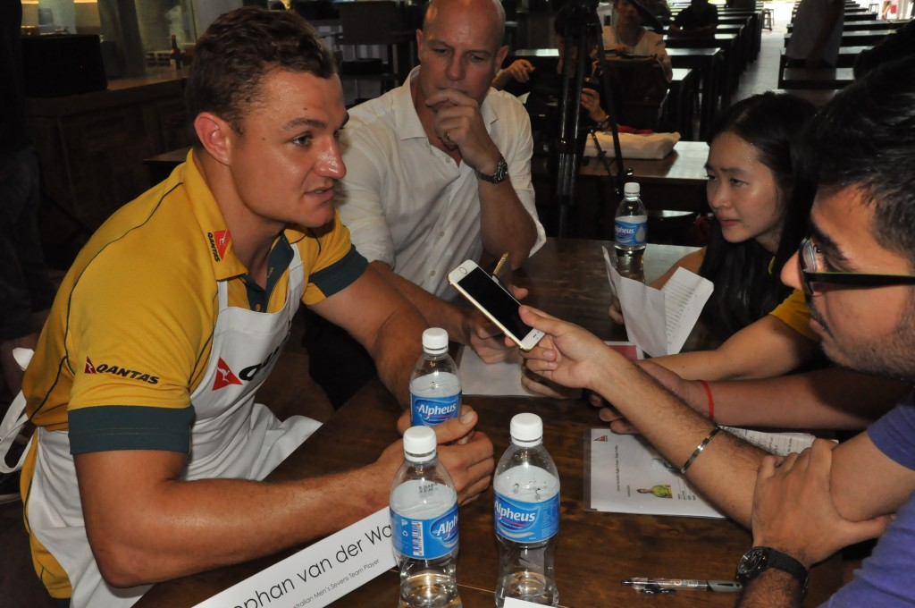 van der Walt admits that not only the Thunderbolts, but all of teams are gunning for the Olympics.