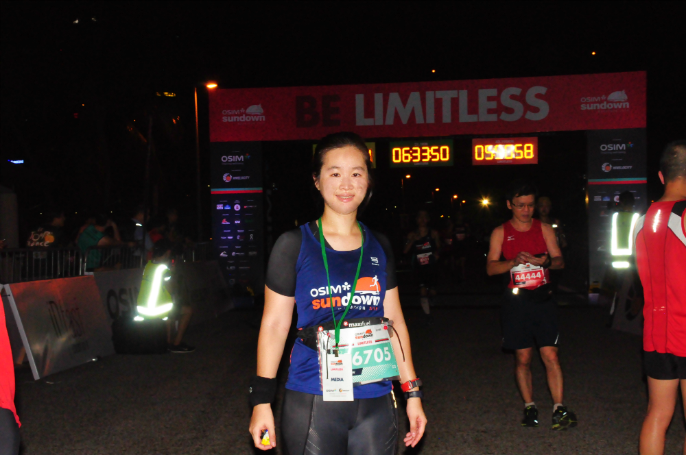 I have completed the Sundown Marathon.