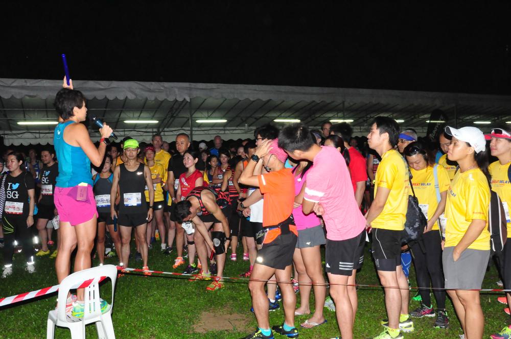 A briefing by organiser Jeri Chua.