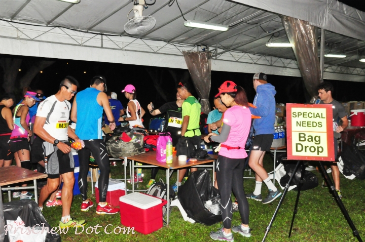 Runners could refuel at this aid station.