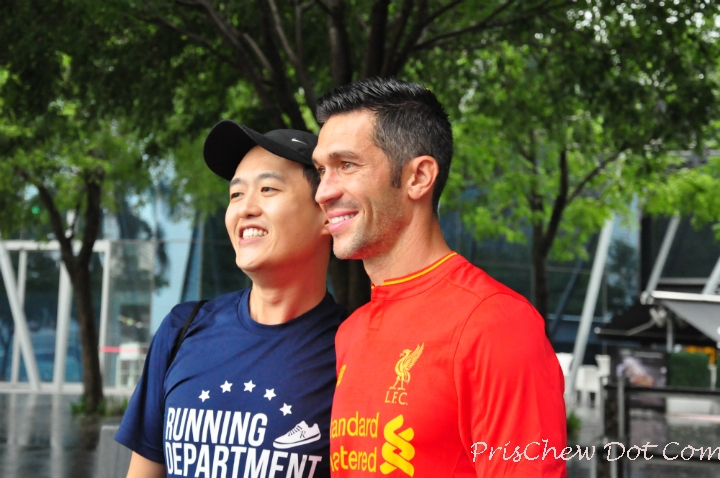 Running Department's Terence Teo and Garcia.