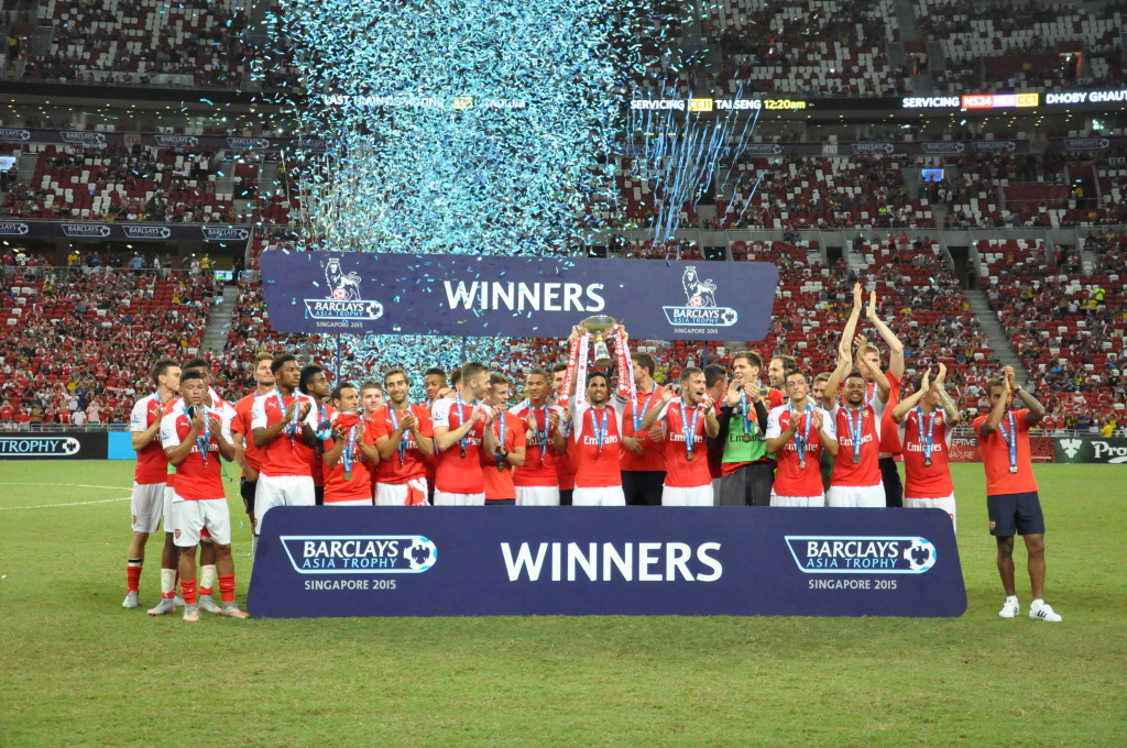 Can Arsenal replicate that winning feeling in the BPL come May?