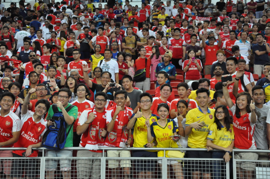 A record number of people thronged the National Stadium last Saturday night.