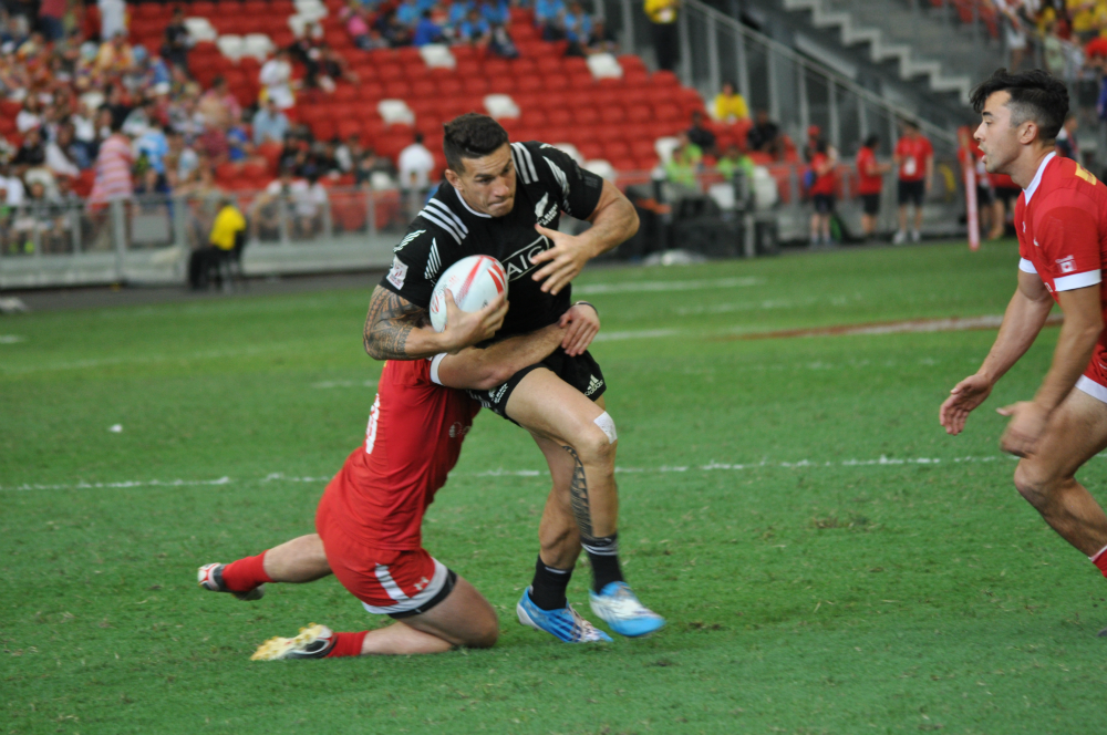 Low hopes to turn the Singapore leg of the HSBC Sevens into a world class sporting event.