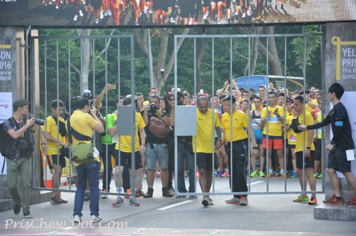 The Yellow Ribbon Prison Run took place this morning, to raise the awareness of giving second chances to ex-offenders and allow them to integrate back into society.