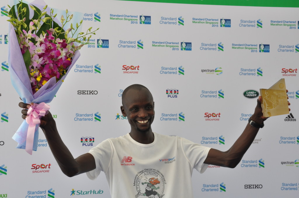 Julius Maisei is the Men's Open Full Marathon winner.