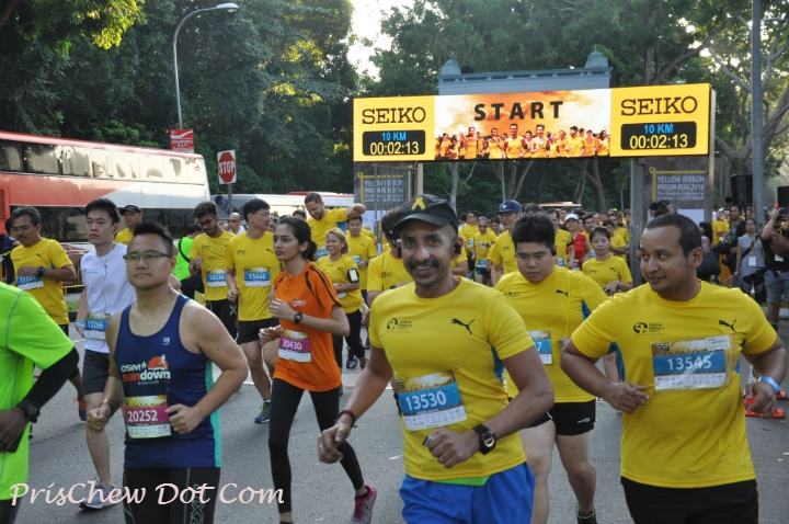Running is growing in popularity.
