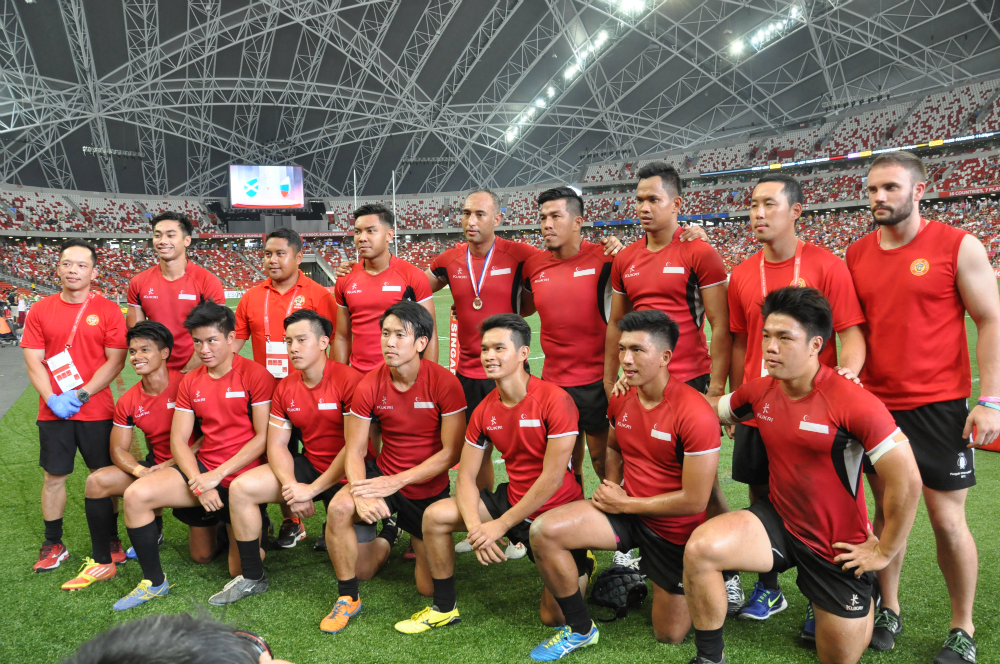 Singapore lost to Thailand in the Men's and Women's SEA 7s Finals.