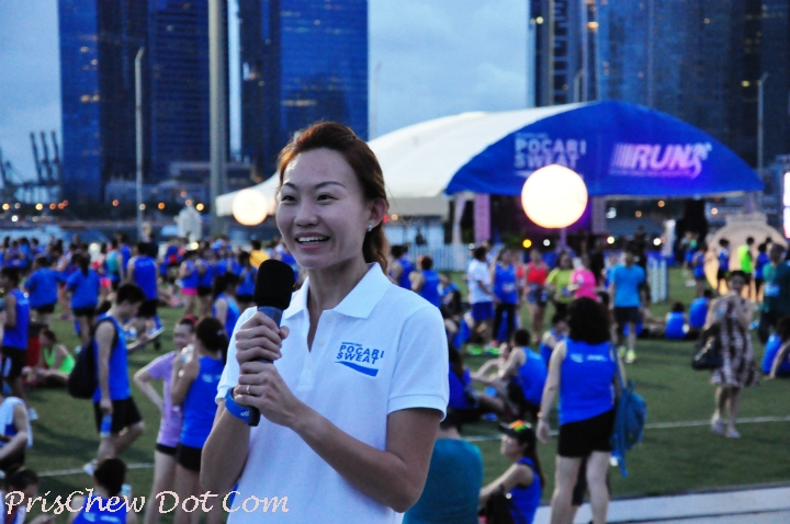 Runners all over Singapore are proud of Jie Shi.