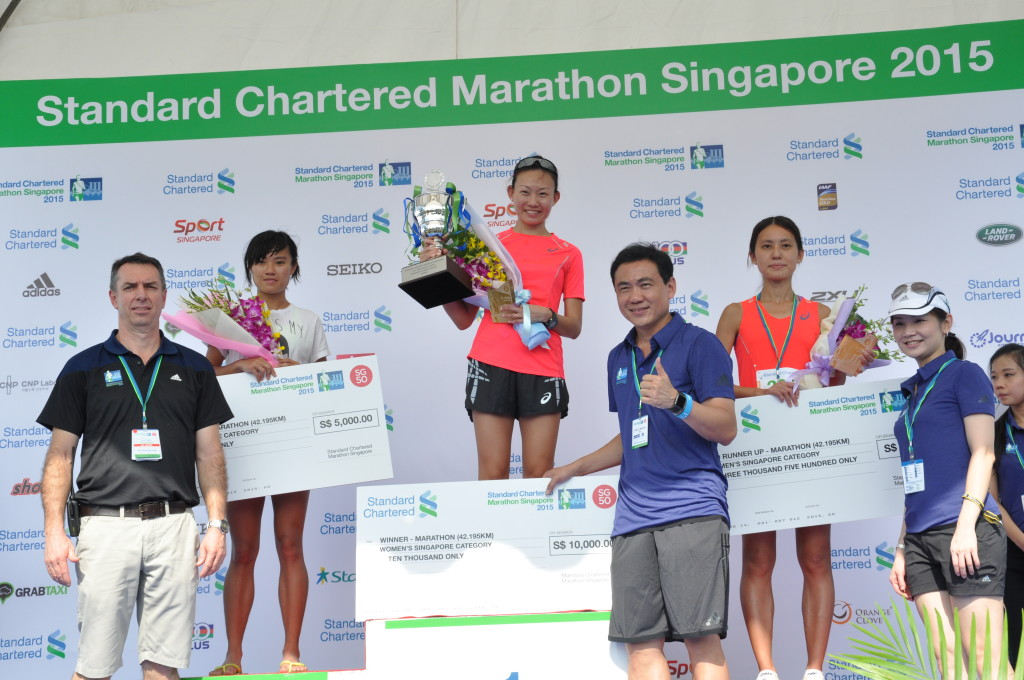 Being the top Singaporean women's finisher was a surprise for Neo JieShi.
