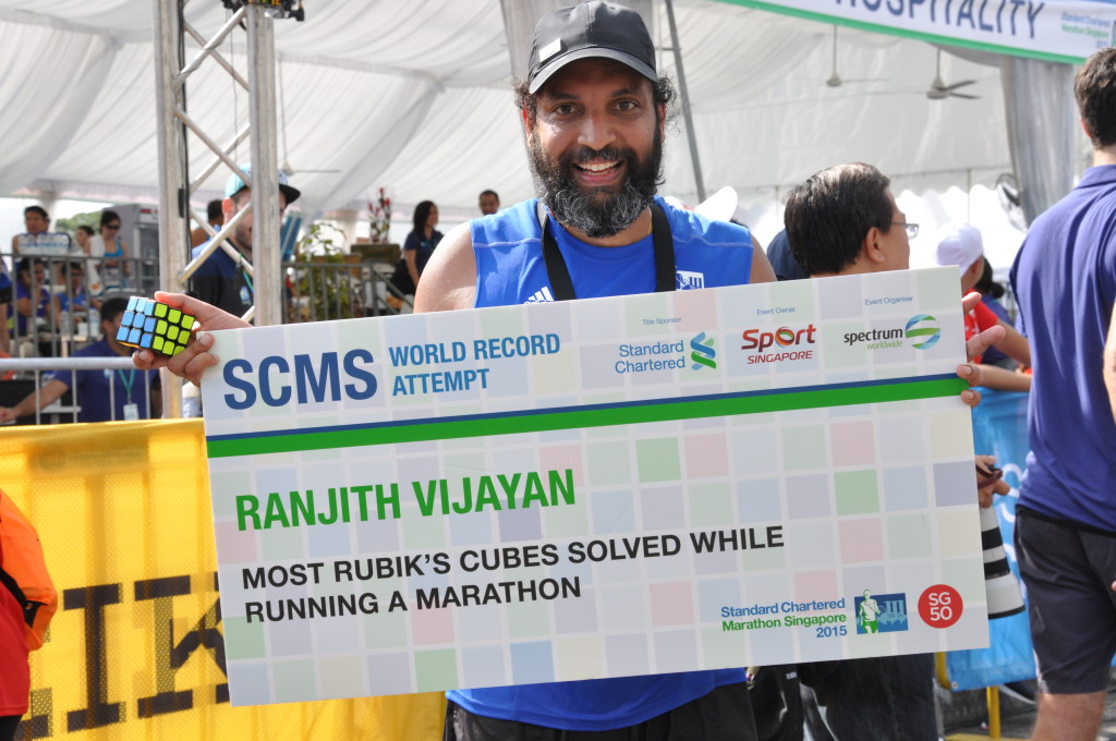 Ranjith Vijayan is a World Record Holder.