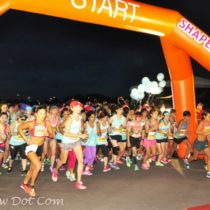 The Shape Run took place yesterday.