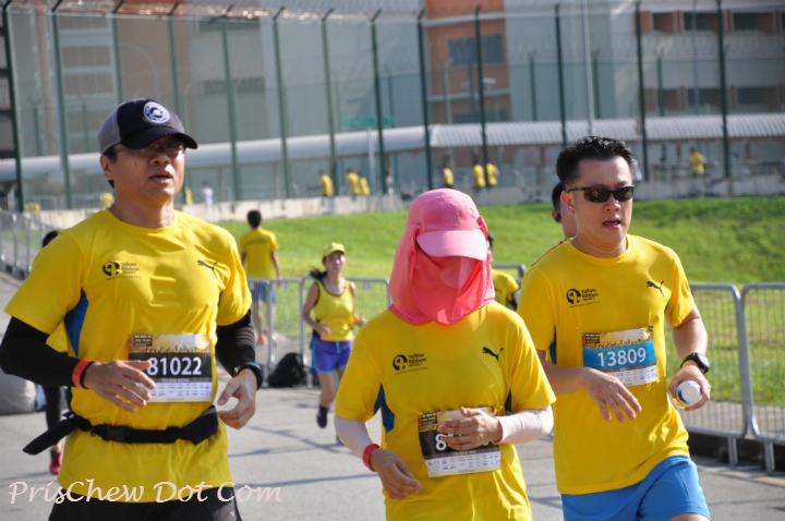 The race was very meaningful for many participants.