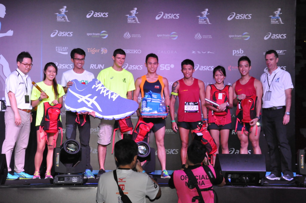Registrations for ASICS City Relay 2016 are now open.