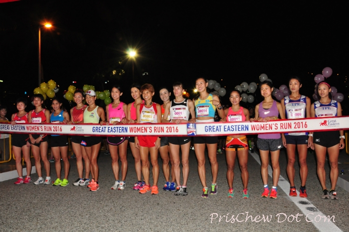 The elite runners at GEWR 2016.