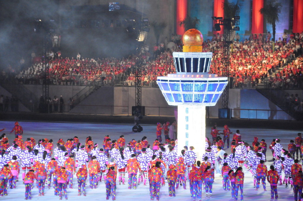 The iconic Changi Airport Control Tower appears at the Parade too.