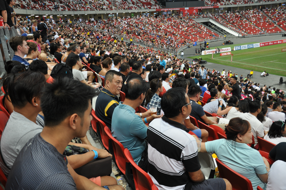 Overall the inaugural HSBC world rugby Singapore sevens was a successful event.