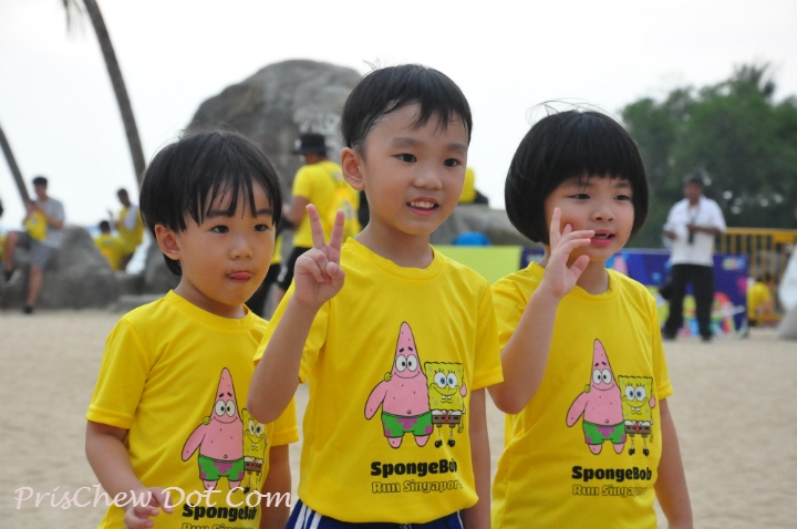 Young Spongebob fans were out in full force on Saturday evening.