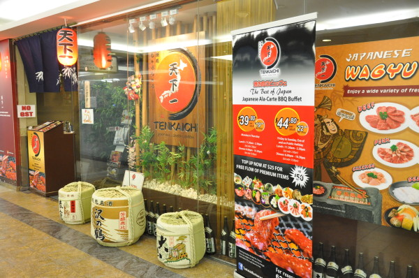Tenkaichi Japanese Restaurant.