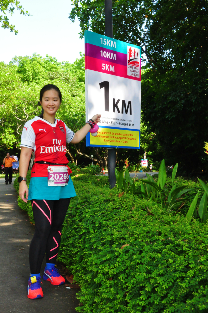 The 1KM marker of the RAC.