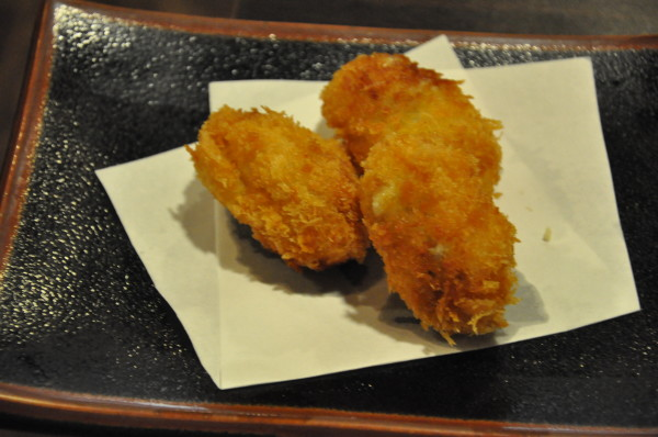 Breaded Oysters.