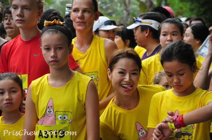 The run met many participants' expectations.