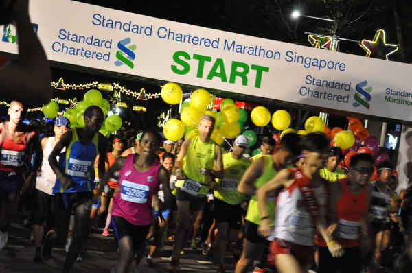 StanChart Marathon Singapore 2014.