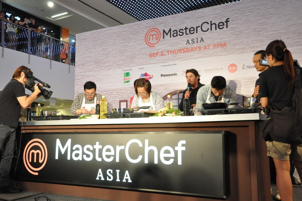 MasterChef Asia contestants hard at work.