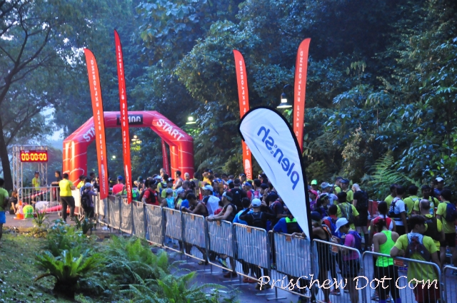 The North Face 100 at MacRitchie Reservoir Park.