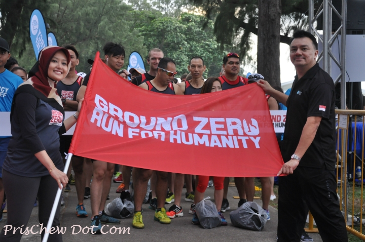 The Ground Zero - Run for Humanity was a success, with many runners understanding more about the work that Mercy Relief does in times of crises.