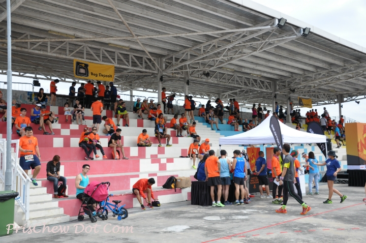 The race had started and ended at 50 Punggol East.