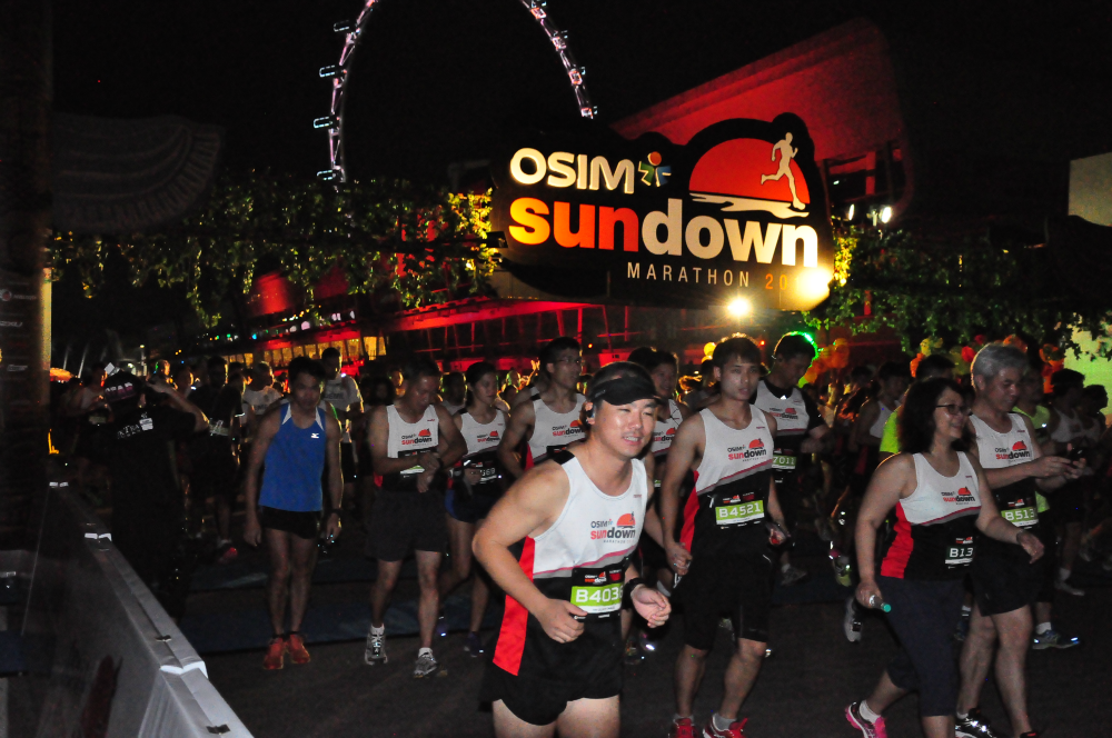 Are you ready for the 2016 edition of the OSIM Sundown Marathon?
