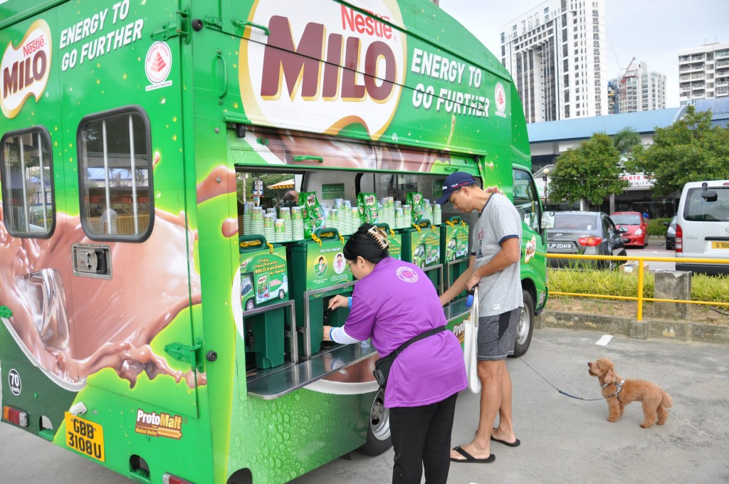 Milo for runners.