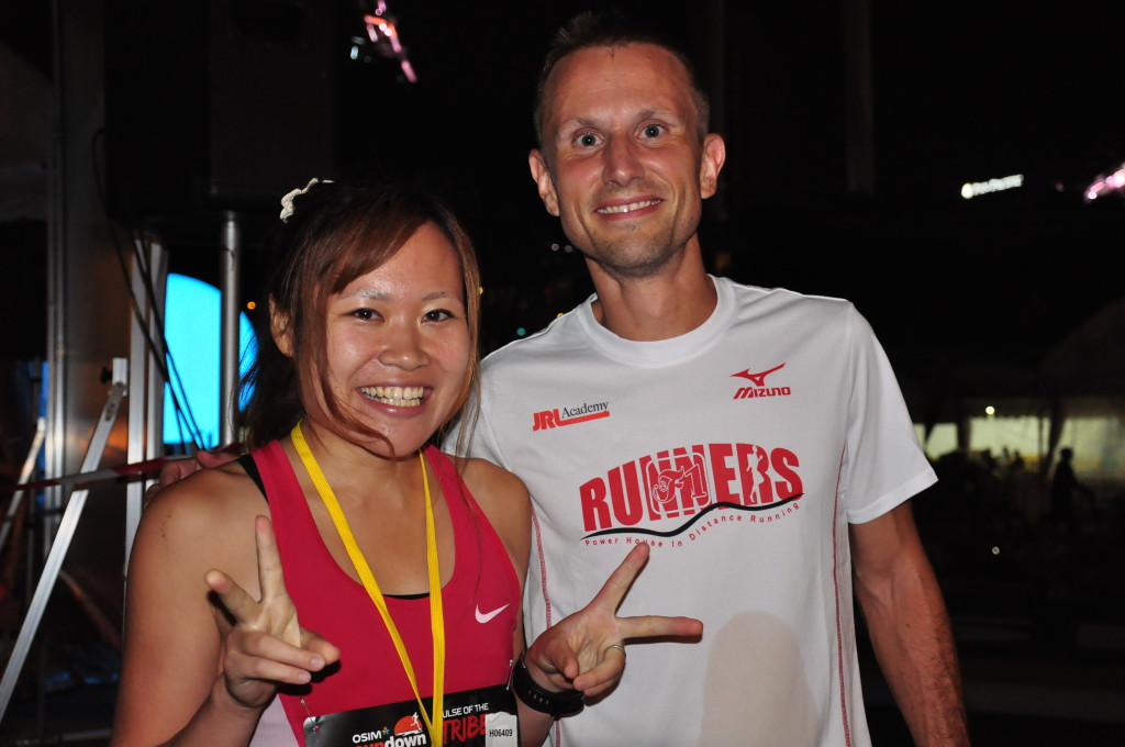 Sundown Marathon 42.195km winners.