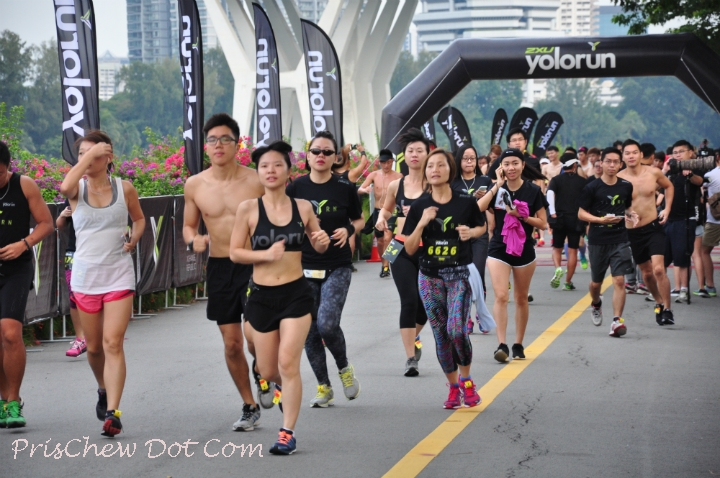 YOLO Run in action.