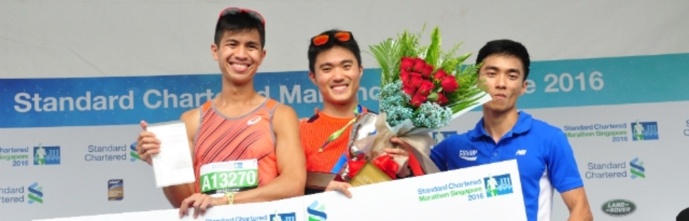 42.195km Winners of the StanChart Marathon 2016 Share their Strategies