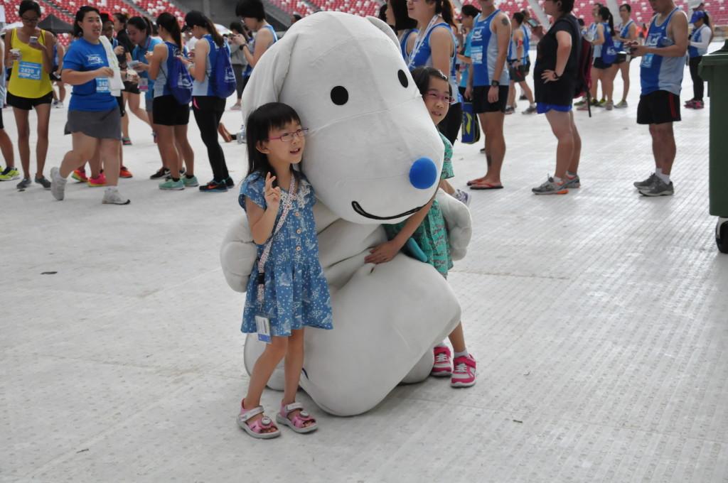 Super cute mascot!