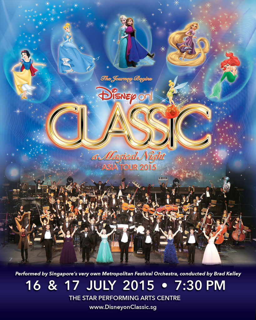 Disney on Classic took place during the weekend. (credit to Metropolitan Festival Orchestra)